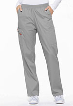 Photo of Natural Rise Tapered Leg Pull-On Pant
