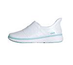Infinity Footwear BREEZE White,ArubaBlue,White (BREEZE-WABW)