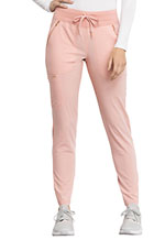 Photo of Mid Rise Straight Leg Drawstring Pants