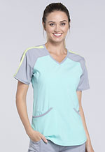 Photo of Colorblock V-Neck Top