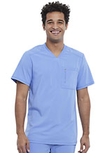 Cherokee Men's V-Neck Top Ciel (CK910A-CIPS)
