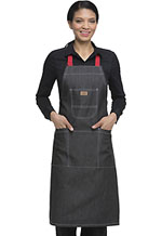 Photo of Bib Apron with Red Straps