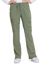 Photo of Mid Rise Boot Cut Drawstring Pant