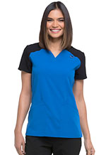Photo of Contrast V-Neck Top