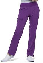 Photo of Mid Rise Straight Leg Pull-on Pant