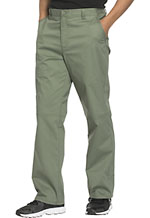 Cherokee Workwear Men's Fly Front Pant Olive (WW200-OLVW)