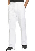 Cherokee Workwear Men's Fly Front Pant White (WW200-WHTW)
