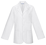 Med-Man 31 Men's Consultation Lab Coat White (1389AB-WHTD)