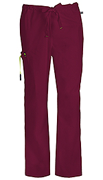 Code Happy Bliss Men's Drawstring Cargo Pant Wine (16001AT-WICH)