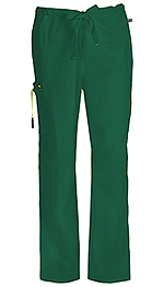 Code Happy Bliss Men's Drawstring Cargo Pant Hunter Green (16001A-HNCH)