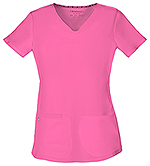 "Photo of ""Pitter-Pat"" Shaped V-Neck Top"