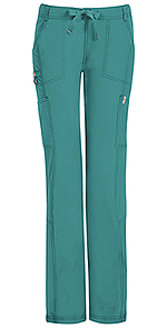 Code Happy Bliss Low Rise Straight Leg Drawstring Pant Teal (46000ABP-TLCH)