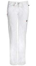 Code Happy Bliss Low Rise Straight Leg Drawstring Pant White (46000ABP-WHCH)