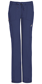 Code Happy Bliss Low Rise Straight Leg Drawstring Pant Navy (46000AB-NVCH)