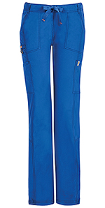 Code Happy Bliss Low Rise Straight Leg Drawstring Pant Royal (46000AT-RYCH)
