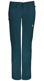 Code Happy Bliss Low Rise Straight Leg Drawstring Pant Caribbean Blue (46000A-CACH)
