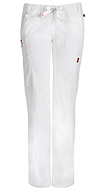 Code Happy Bliss Low Rise Straight Leg Drawstring Pant White (46000A-WHCH)