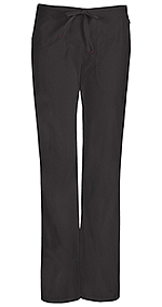 Code Happy Bliss Mid Rise Moderate Flare Drawstring Pant Black (46002AP-BXCH)