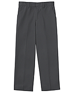 "Classroom Uniforms Classroom Men's Tall Flat Front Pant 35"" Inseam in Slate Gray (50364T-SLATE)"