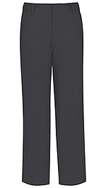 "Classroom Uniforms Classroom Men's Flat Front Pant 32"" Inseam in Charcoal Grey (50364-CGRY)"