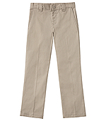 Classroom Uniforms Classroom Boys Husky Stretch Narrow Leg Pant in Khaki (50483A-KAK)