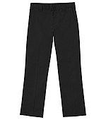Classroom Uniforms Classroom Men's Short Stretch Narrow Leg Pant in Black (50484S-BLK)