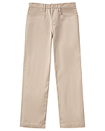 Classroom Uniforms Classroom Girls Stretch Low Rise pant in Khaki (51072AZ-KAK)