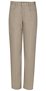 Classroom Uniforms Classroom Girls Plus Low Rise Pant in Khaki (51073-KAK)