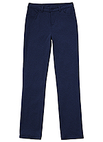Classroom Uniforms Classroom Girls Ponte Tapered Leg Pant in Dark Navy (51142AZ-DNVY)