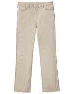 Classroom Uniforms Classroom Girls Adj. Stretch Matchstick Leg Pant in Khaki (51282-KAK)