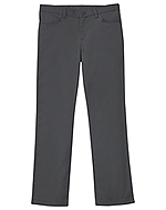 Classroom Uniforms Classroom Girls Adj. Stretch Matchstick Leg Pant in Slate Gray (51282-SLATE)