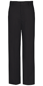 Classroom Uniforms Classroom Girls Flat Front Trouser Pant in Black (51941-BLK)