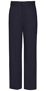 Classroom Uniforms Classroom Girls Flat Front Trouser Pant in Dark Navy (51941-DNVY)