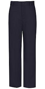 Photo of Flat Front Slim Elastic Trouser Pant