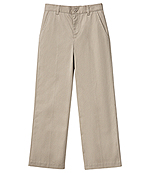 Classroom Uniforms Classroom Girls Plus Stretch Flat Front Pant in Khaki (51943AZ-KAK)