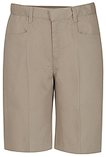 Classroom Uniforms Classroom Girls Low-Rise Adjustable Waist Short in Khaki (52071A-KAK)