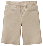 Classroom Uniforms Classroom Juniors Stretch Low Rise Short in Khaki (52074Z-KAK)