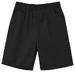Classroom Uniforms Classroom Preschool Unisex Pull On Short in Black (52130-BLK)