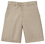 Classroom Uniforms Classroom Men's Flat Front Short in Khaki (52364-KAK)