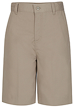 Classroom Uniforms Classroom Juniors Flat Front Short in Khaki (52944-KAK)
