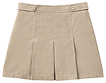 Classroom Uniforms Classroom Girls Adjustable Waist Hipster Scooter in Khaki (55322A-KAK)