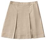 Photo of Girls Plus Kick Pleat Skirt