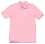 Classroom Uniforms Classroom Adult Unisex Short Sleeve Pique Polo in Pink (58324-PINK)