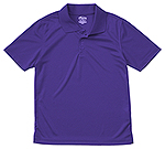 Classroom Uniforms Classroom Adult Unisex Moisture-Wicking Polo Shirt in Dark Purple (58604-DKPR)