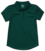 Photo of Girls S/S Moisture Wicking Polo