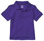 Photo of Preschool Unisex SS Interlock Polo