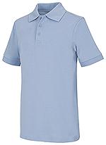 Photo of Youth Unisex Short Sleeve Interlock Polo