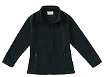 Classroom Uniforms Classroom Junior Fitted Polar Fleece Jacket in Hunter Green (59104-HUN)