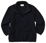 Classroom Uniforms Classroom Youth Unisex Polar Fleece Jacket in Dark Navy (59202-DNVY)