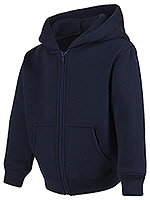 Classroom Uniforms Classroom Toddler Zip-up Sweatshirt in Dark Navy (59220-DNVY)